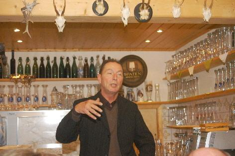 Klaus Gaßner anläßlich Fischessen 2013